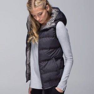 Lululemon Chilly Chill Reversible Puffy Vest SZ 4